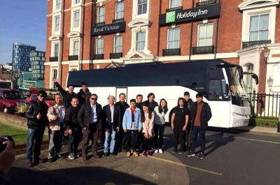 Minibus with driver and bus hire for day trip from more than 150 cities throughout Europe and UK