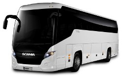 49 seater coach and charter bus hire in Zurich