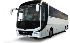 56 seater coach and charter bus hire in Zurich