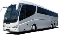 62 seater coach and charter bus hire in Zurich